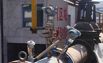 湘潭钢铁厂蒸汽、煤气计量现场